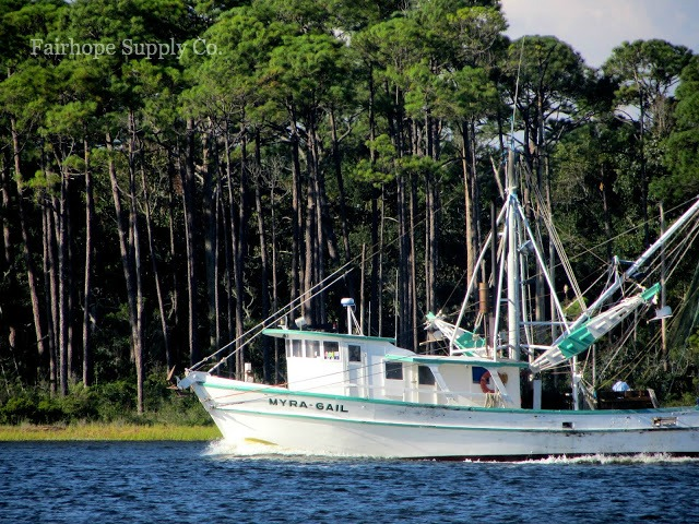 Shrimp Boat in Santa Rosa Sound, Mary Esther, FL