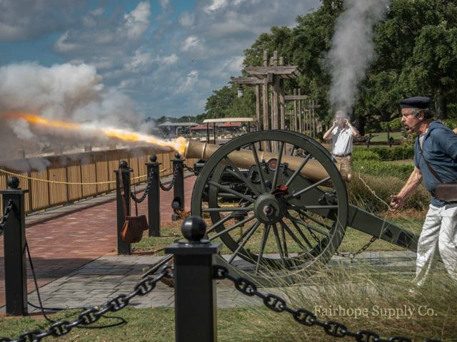Grand Hotel Cannon ceremony Fairhope