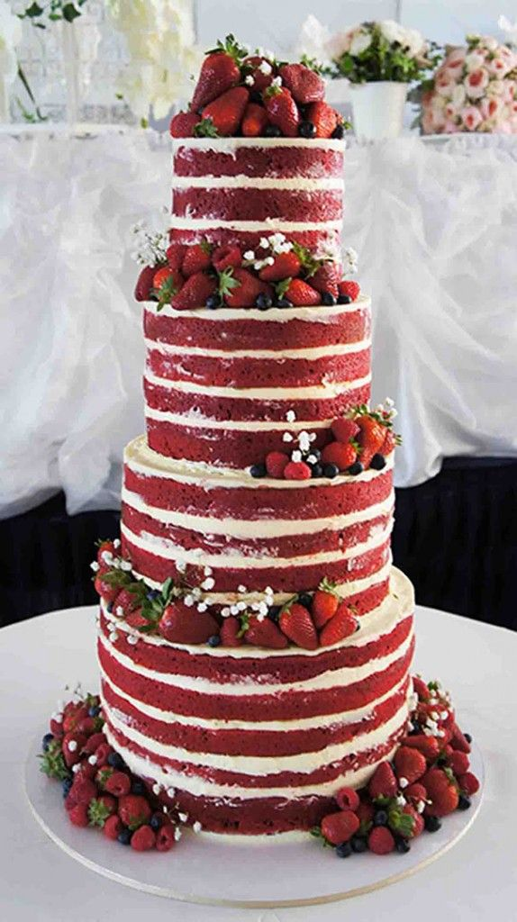 Red Velvet Wedding Cake.Red Velvet Cake For Christmas Leslie Anne Tarabella