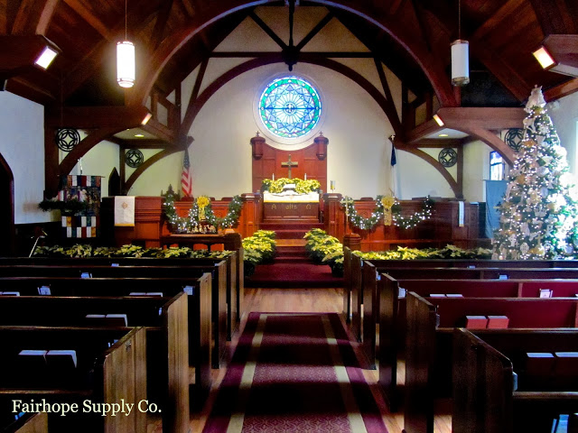 Fairhope United Methodist Church, Christmas, Fairhope Alabama