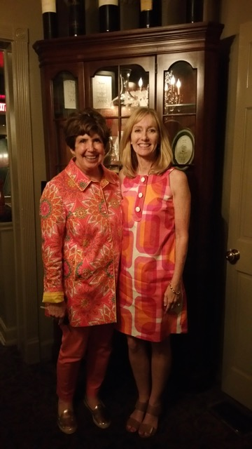 Mary Kay Andrews and Karyn Tunks in Fairhope Alabama