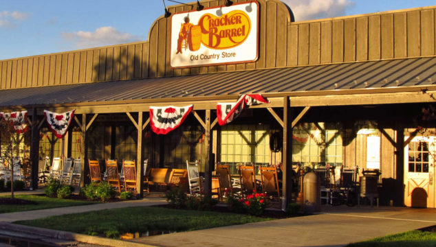 Counting blessings at Cracker Barrel