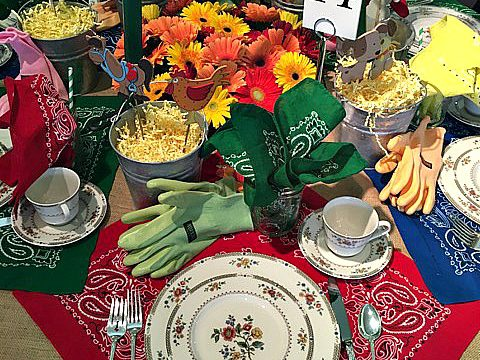 Amazing tablescapes for a good cause
