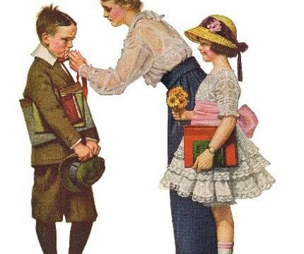 A Norman Rockwell kind of morning