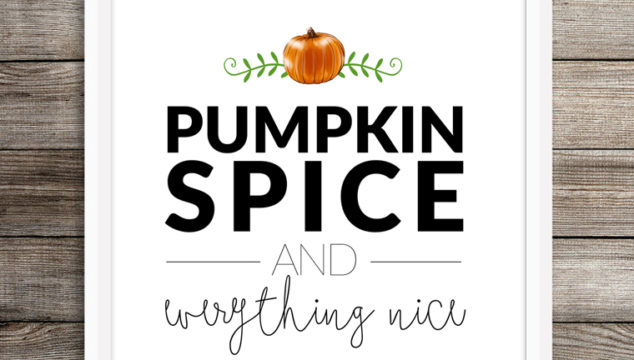 Don't rush the Spiced Pumpkin Latte!