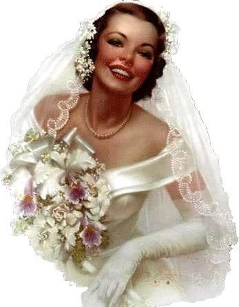 The charm of a non-sweaty bride