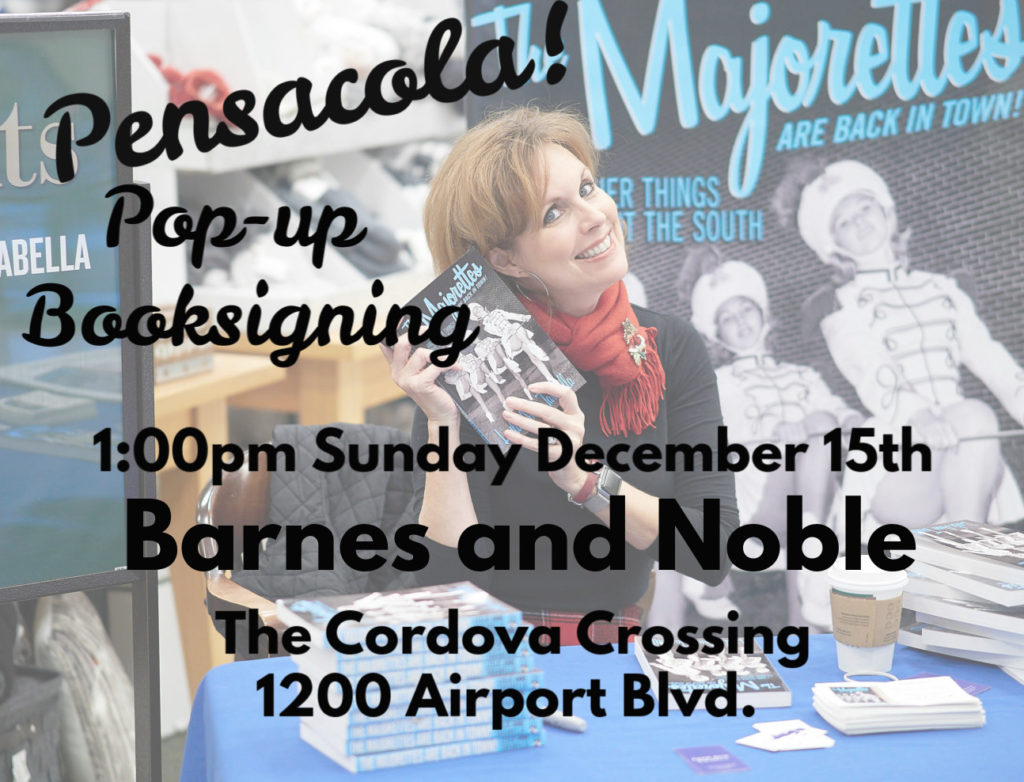 Book signing in Pensacola, FL by author Leslie Anne Tarabella