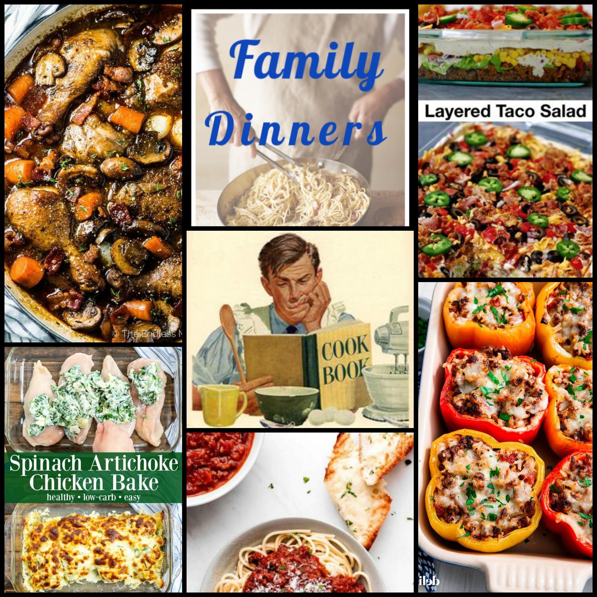 Over 100 Family Dinner Ideas